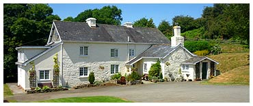 Brynhir Farmhouse Award Winning Full Board Accommodation in mid Wales.